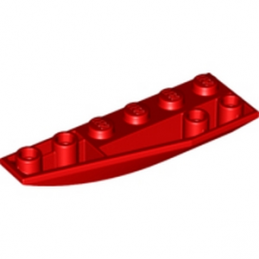 LEGO 4161278  LEFT SHELL 2X6W/BOW/ANGLE,INV - ROUGE lego-4161278-left-shell-2x6wbowangleinv-rouge ici :