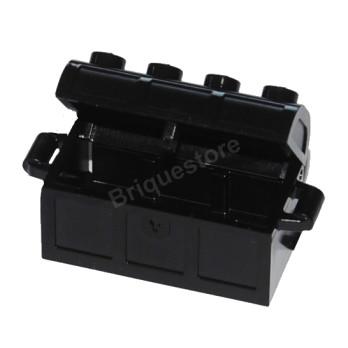 LEGO 6101166 MALLE / COFFRE 2X4 - NOIR