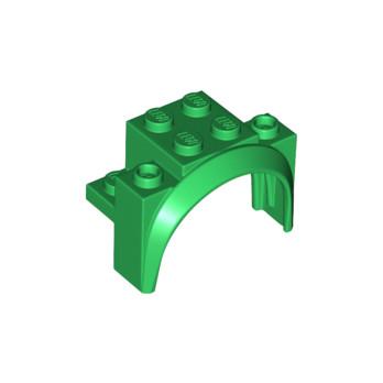 LEGO 6112247 GARDE BOUE 2X4X2 1/3 - DARK GREEN