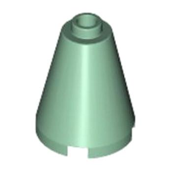 LEGO 4155062 CONE 2X2X2 - SAND GREEN