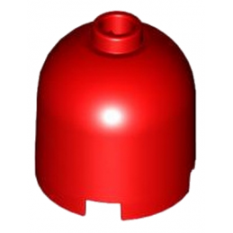 LEGO 4118935 DOME 2X2X 1 2/3 - ROUGE