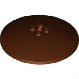 LEGO 4659004 ROUND PLATE Ø64X9.6 - Reddish Brown