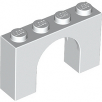 LEGO 618201 ARCHE 1X4X2 - BLANC