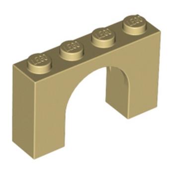 LEGO 618205 ARCHE 1X4X2 - BEIGE