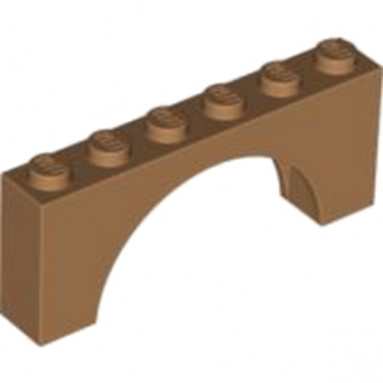 LEGO 6106193 ARCHE 1X6X2 - MEDIUM NOUGAT lego-6106193-arche-1x6x2-medium-nougat ici :