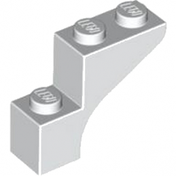 LEGO 4568956  BRICK WITH BOW 1X3X2 - BLANC