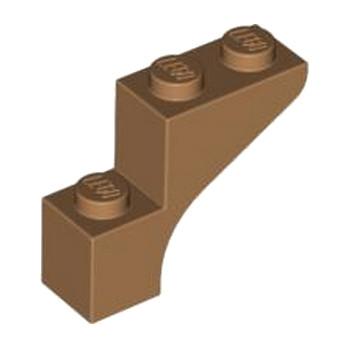 LEGO 4568955 BRICK WITH BOW 1X3X2 - MEDIUM NOUGAT