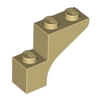 LEGO 4579306 BRICK WITH BOW 1X3X2 - BEIGE