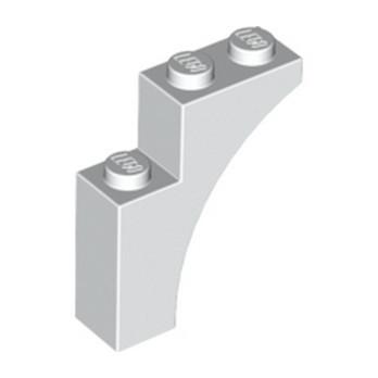 LEGO 6038525 BRICK WITH BOW 1X3X3 - BLANC