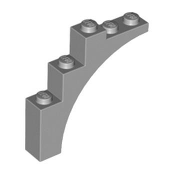 4211348 BRICK W. BOW 1X5X4 - Medium Stone Grey