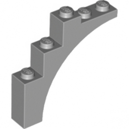 LEGO 4211348 ARCHE 1X5X4 - MEDIUM STONE GREY
