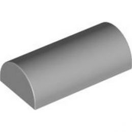 4518653 BOWED ROOF RIDGE 2X4X1 - Médium Stone Grey