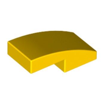 LEGO 6029947  PLATE W. BOW 1X2X2/3 - JAUNE