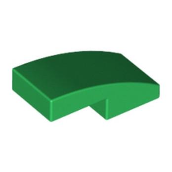 LEGO 6047426 PLATE W. BOW 1X2X2/3 - DARK GREEN lego-6047426-plate-w-bow-1x2x23-dark-green ici :