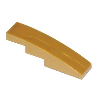 Brick with bow 1x4 - Doré
