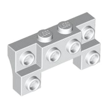 LEGO 4259942 BRIQUE 1X4X1 2/3 W. V. KNOBS - BLANC