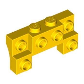 LEGO 4648255 BRIQUE 1X4X1 2/3 W. V. KNOBS - JAUNE