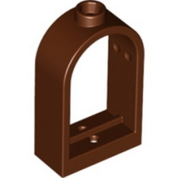 4159729 	WINDOW FRAME 1X2X2 2/3 - Reddish Brown