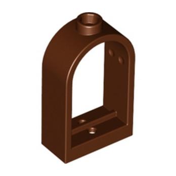 4159729 WINDOW FRAME 1X2X2 2/3 - Reddish Brown