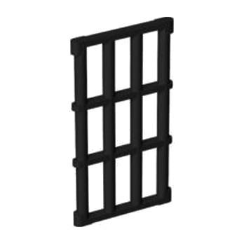 LEGO 4597127 GRILLE POUR CADRE 4X6 - NOIR