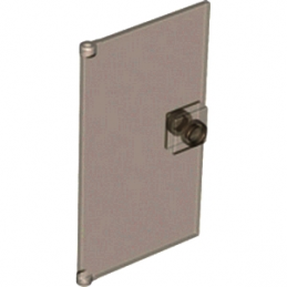 6039881 	GLASS DOOR FOR FRAME 1X4X6 - Marron Transparent
