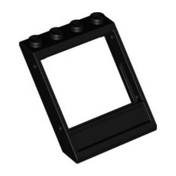 60806  Fenetre Oblique 3x4x3 - Noir