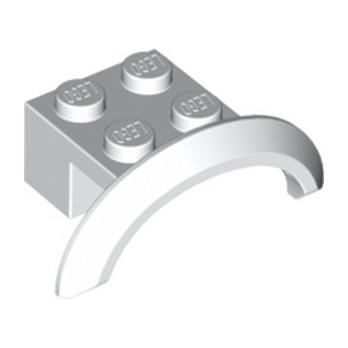 LEGO 4646576  GARDE BOUE 2X4X1 - BLANC