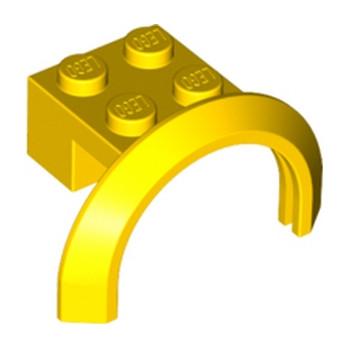 LEGO 4288594  GARDE BOUE 2X4X1 - JAUNE