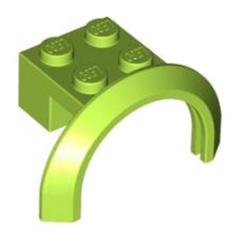 LEGO 4525857 GARDE BOUE 2X4X1 - BRIGHT YELLOWISH GREEN