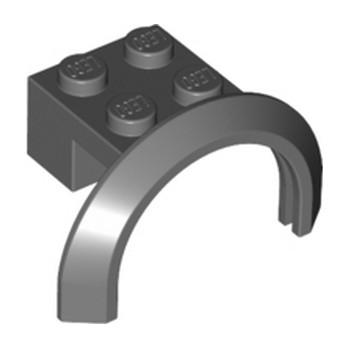 LEGO 4243611 GARDE BOUE 2X4X1 - DARK STONE GREY lego-4260124-garde-boue-2x4x1-dark-stone-grey ici :