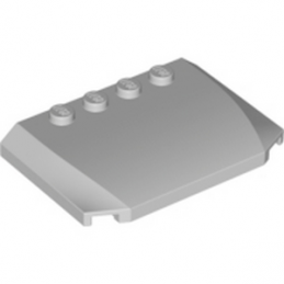 LEGO 4648250  CAPOT 4X6X2/3 - MEDIUM STONE GREY