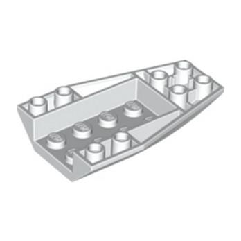 LEGO 4179878 BRIQUE 4 X 6 W/BOW, INVERTED - BLANC lego-4261693-brique-4-x-6-wbow-inverted-blanc ici :