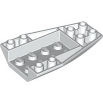 LEGO 4179878 BRIQUE 4 X 6 W/BOW, INVERTED - BLANC