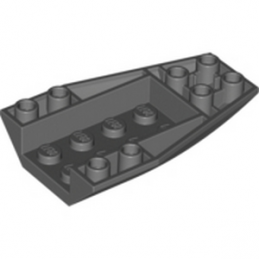 LEGO 4180470 BRIQUE 4 X 6 W/BOW, INVERTED - DARK STONE GREY