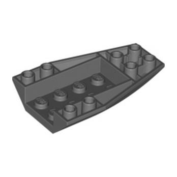 LEGO 4180470 BRIQUE 4 X 6 W/BOW, INVERTED - DARK STONE GREY