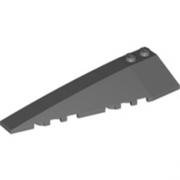 LEGO 4500564  LEFT SHELL 3x10 - DARK STONE GREY