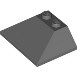 LEGO 6013539  ROOF TILE 3X4, 25°/45° - DARK STONE GREY