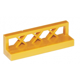 LEGO 4536675 CLOTURE / BARRIERE 1X4X1 - WARM GOLD