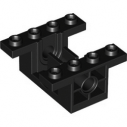 4500902  CONICAL WHEEL BLOCK 4X4   - NOIR