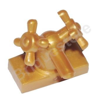 LEGO 6044591 ROBINET 1X2 - WARM GOLD