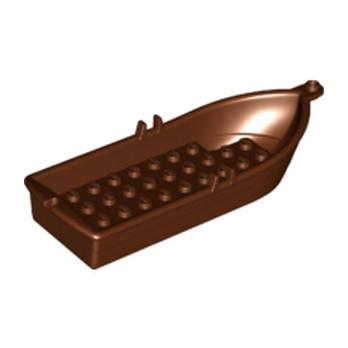 LEGO 6115714 BARQUE / BATEAU - REDDISH BROWN