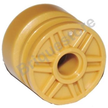 LEGO 4495991 JANTE 18x14 W. HOLE Ø4.8 - WARM GOLD lego-4495991-jante-18x14-w-hole-o48-warm-gold ici :