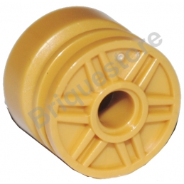 LEGO 6109685 RIM WIDE 18x14 W. HOLE Ø4.8 - WARM GOLD