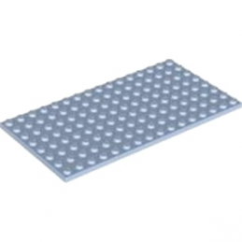 LEGO 4600612 PLATE 8X16 - LIGHT ROYAL BLUE