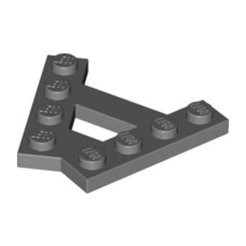 LEGO 6133811 - PLATE (A) 4M 45° - DARK STONE GREY