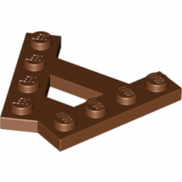 LEGO 6084573 - PLATE (A) 4M 45° - REDDISH BROWN lego-6084573-plate-a-4m-45-reddish-brown ici :