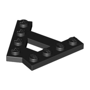 LEGO 6054852 - PLATE (A) 4M 45° - NOIR