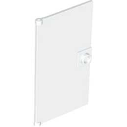 4611164  GLASS DOOR FOR FRAME 1X4X6 - Blanc
