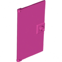 6104006 -  GLASS DOOR FOR FRAME 1X4X6 - Magenta