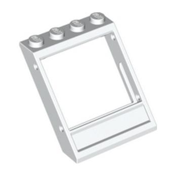 4536519  Fenetre Oblique 3x4x3 - Blanc